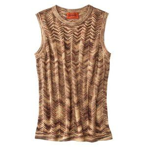 Missoni for Target knit sleeveless shell S